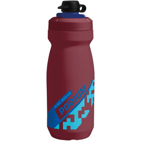 CamelBak Podium Dirt Series Flaske 620ml, burgundy/blue